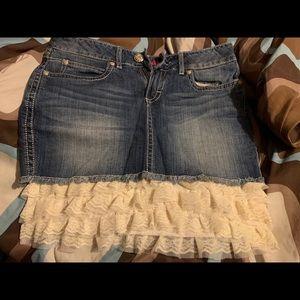 Wrangler Jean Skirt